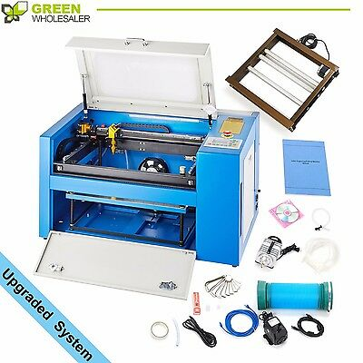 New Laser Engraving Machine 300 mm x 500 mm 50W CO2 USB Port Engraver Cutter