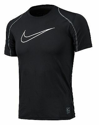Nike Youth Pro Cool HBR Fitted Dri-Fit Training Top S/S Sports Boy's 726463-010