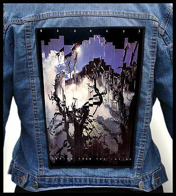 BAUHAUS  --- Giant Backpatch Back Patch / Siouxsie UK Decay Alien Sex Fiend