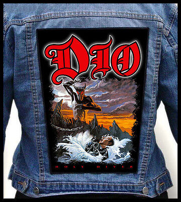 DIO - Holy Diver  --- Giant Backpatch Back Patch / Rainbow Dokken UFO Accept