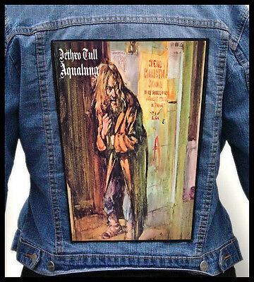 JETHRO TULL - Aqualung  --- Giant Backpatch Back Patch /