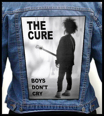THE CURE --- Giant Backpatch Back Patch / New Order The Glove Cult Hero