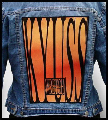 KYUSS - Wretch   --- Giant Backpatch Back Patch