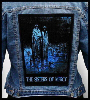 SISTERS OF MERCY - Body and Soul  --- Giant Backpatch Back Patch
