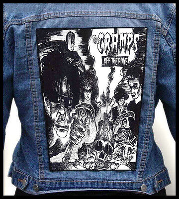 THE CRAMPS --- Giant Backpatch Back Patch / The Meteors Mad Sin Tiger Army