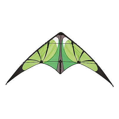 HQ Bebop Lime Stunt Sport Trick Kite Outdoor Toy Kite