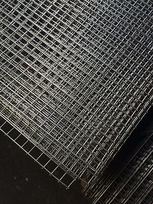 Stainless Steel Welded Wire Mesh Panel 2400(8') x 1220(4') x 12.5 x 12.5 x 1.6mm
