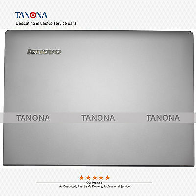 New Lenovo S400 S405 LCD Back Cover Rear Lid Assembly Grey non-touch FAOSB000530