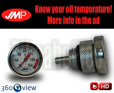 Motorcycle Oil temperature gauge - M20 X 1.5  Exposed needle length: 15mm