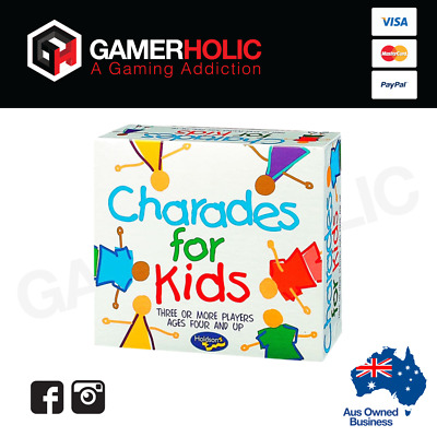 Holdson Charades Board Game For Kids Family Games Brand New
