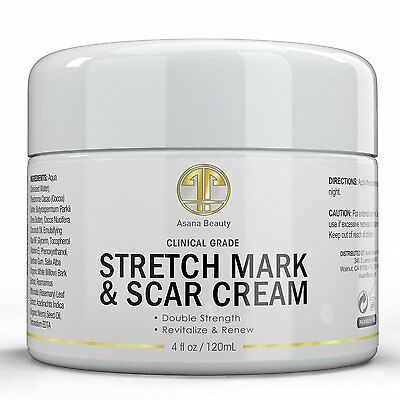 Stretch Mark and Scar Cream by Asana Beauty 4oz       S