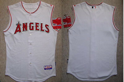 MLB Baseball Trikot/Jersey LOS ANGELES LA ANGELS Authentic white von Majestic