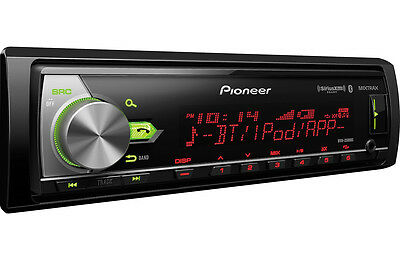 Pioneer MVH-X580BS Car Media Receiver. Built-in Bluetooth. NEW!