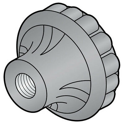 Knob Fluted For Hobart Food Cutters Buffalo OEM # 77371