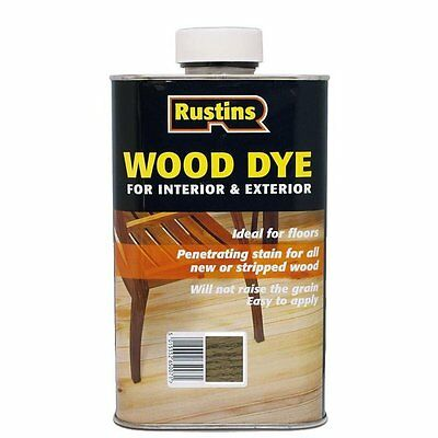 Rustins Wood Dye Medium Oak 250ml / 1L / 2.5L