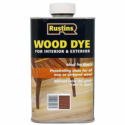 Rustins Wood Dye Red Mahogany 250ml / 1L / 2.5L