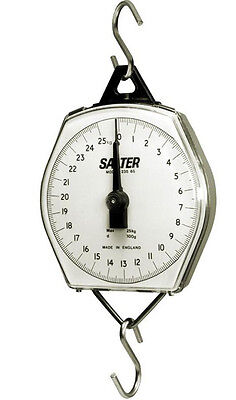 Salter Brecknell 235-6S Dial Mechanical Hanging Scale,220lb x 1 lb,100kgx500g