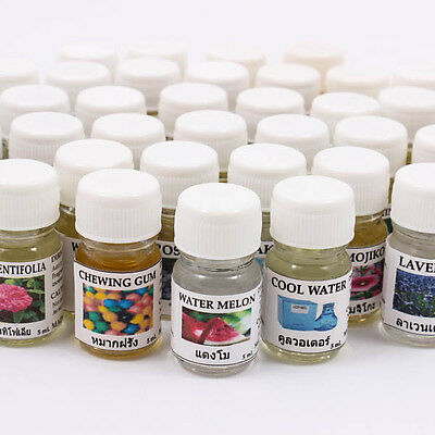 Aroma Fragrance Essential Oil 5ML. cc 121 Scents  Diffuser Burner Therapy T0138