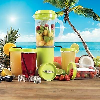 Party Mix Blender Cocktail Maker Set Multi Functional Home Party Fun Lime Green