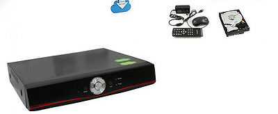 Dvr Nvr Hvr Ahd Ibrido 8 Ch Canali 8Ch Ptz Full Hd 1280 X 720P Cloud Hd 500 Gb