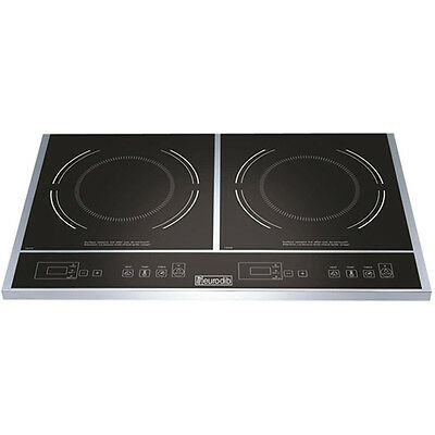 Cooktop, Double Induction, TOTAL Wattage 1800