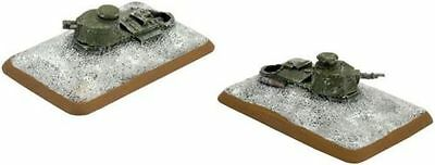 Flames of War - Finnish: FT-17 Turret Bunkers  FI681