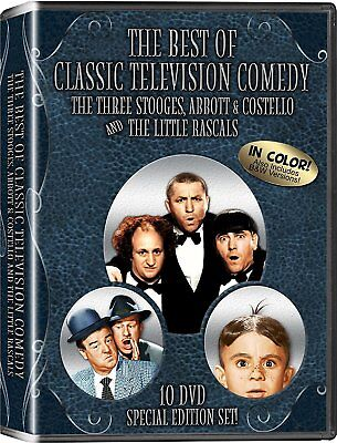 The Best of Classic Television Comedy (DVD, 2012, 10-Disc Set, Special, New