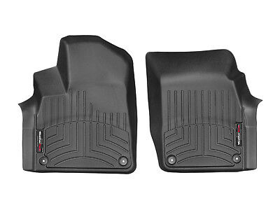 WeatherTech Floor Mats FloorLiner for Q7 Bentayga 2017-2018 1st Row Black