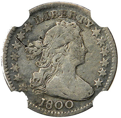 1800 DRAPED BUST HALF DIME (H10c) - NGC FINE DETAILS **PRICED RIGHT!**