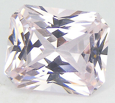 EXCELLENT CUT OCTAGON 12x10 LAB CREATED NANOCRYSTAL SIMULATED KUNZITE