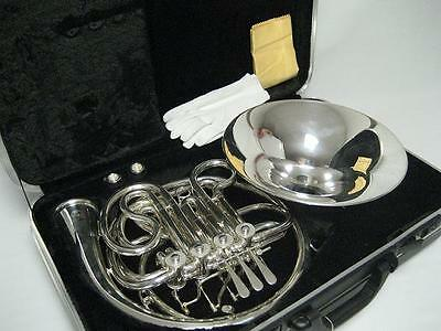 Professional Silver Double French Horn New