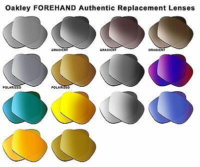Authentic Oakley Lens FOREHAND Women Sunglasses 100-855 (optional Polarized) NEW