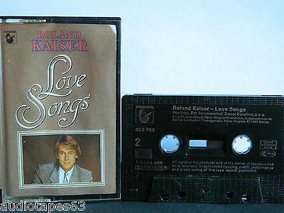 "GETESTET ROLAND KAISER "" Love Songs "" Hansa 1985 MC Kassette Tape"