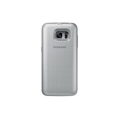 Genuine Samsung Galaxy S7 Wireless Fitted Battery Pack - Silver New