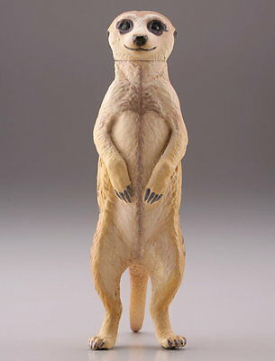 Kaiyodo Capsule Q Museum 珍獣動物園 Unique Animal Zoo Vol2 Meerkat Figure