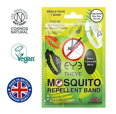 MOSQUITO REPELLENT BAND - DEET FREE 14 DAYS PROTECTION **Manufacturers Listing**