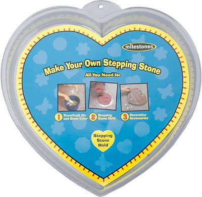 """Stepping Stone Mold Heart 12"""" 90723123"""