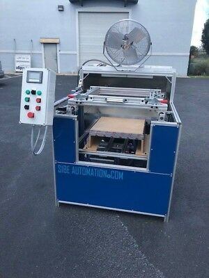 "Sibe Automation Vacuum Forming Machine 24"" X 24"" Thermoforming Infrared Heaters"