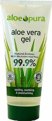 Aloe Pura Aloe Vera Gel 100Ml-99.9% Pure Organic Certified For Content & Purity