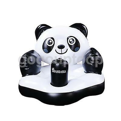 Summer Infant Baby Shower Inflatable Panda Chair Dining Chair with Air Pump