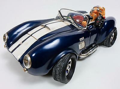 "GUILLERMO FORCHINO - Comic Art Skulptur - ""SHELBY COBRA 427 S/C"" - Figur FO85071"