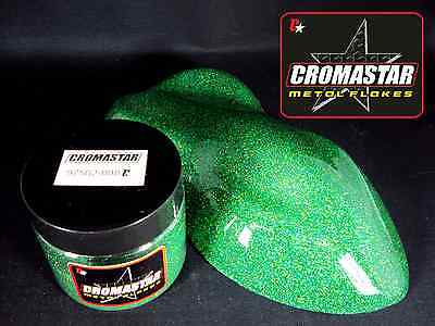 Metal Flake Holographic Green Automotive Paint