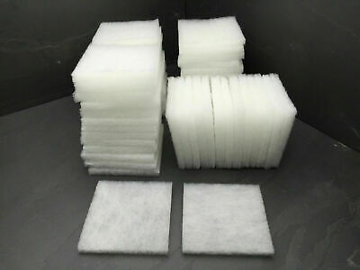 50 Compatible Poly Wool Pads Suitable For Juwel Compact / BioFlow 3.0 Filters