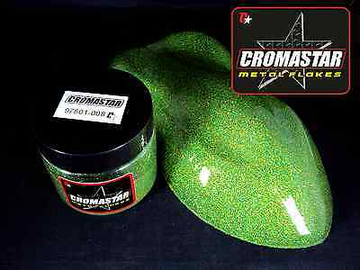 Metal Flake Holographic Green Grass Automotive Paint