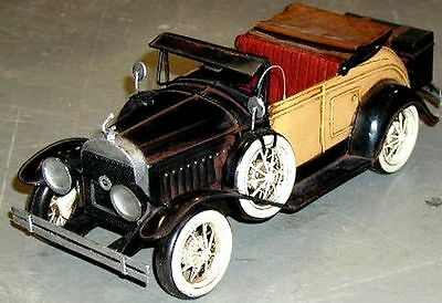 Bentley um 1924 Oldtimer Blechauto Blechmodell Tin Model Vintage Car 35 cm 37256