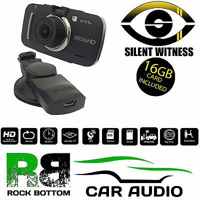 Silent Witness SW006 Car Taxi or Vans GPS HD 1080p DVR Dash Cam Camera 16GB SD