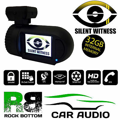Silent Witness SW2200 Car Taxi Vans Night Vision GPS HD DVR 32GB Dash Cam Camera