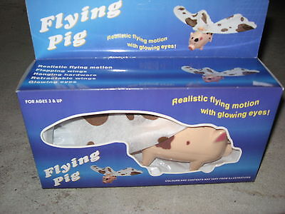 Battery Operated Flying Pig, Flapping Wings Funny Toy Gag Gift Item No: 2172