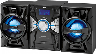 Stereoanlage mit CD/MP3, Radio, USB, AUX-In und Bluetooth AEG MC 4465 BT