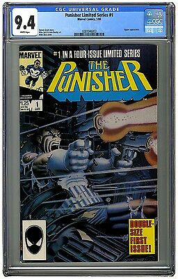 The Punisher (Limited Series) #1 CGC 9.4 (Near Mint Condition)